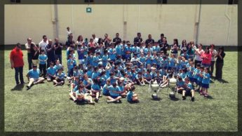 Ghajnsielem F.C players pay surprise visit to Ghajnsielem Primary