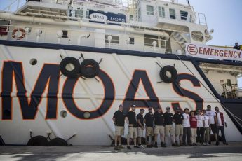 MOAS & EMERGENCY NGO set sail today to patrol migrant crossings