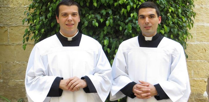 Celebration of Ordination of two deacons held at Gozo Cathedral