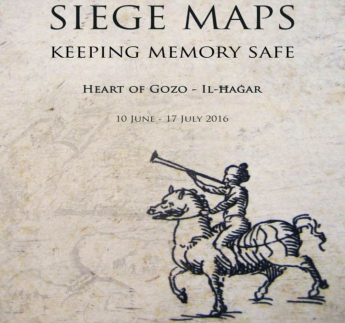 Four maps of the Great Siege of 1565 on display in Gozo