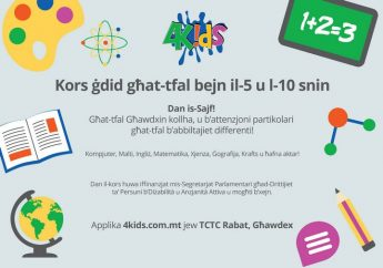 4KIDS computer skills course in Gozo - Bookings open till Saturday