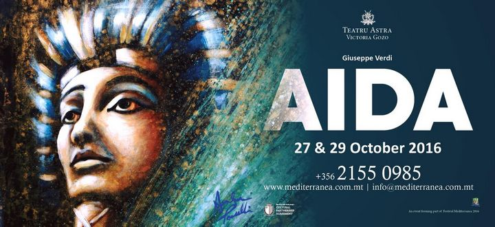 An opportunity to be part of the opera AIDA at the Astra Theatre