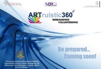 Project - ARTruistic360°...Rebranding Volunteering launched in Zebbug