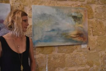 Into The Void: Gozo exhibition of new work by Charlotte Wallis