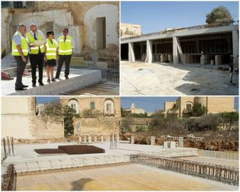 Construction works underway on new home for the elderly in Gozo