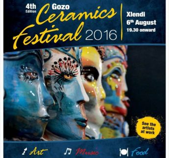 Gozo Ceramics Festival 2016: Art, music and food in Xlendi