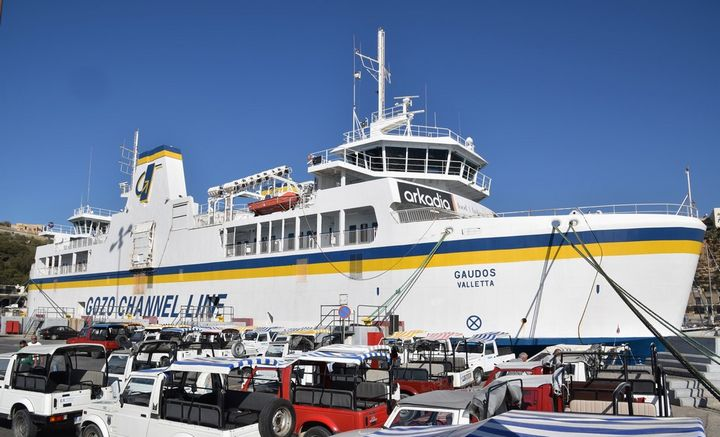 MV Gaudos off service from Monday until end of November
