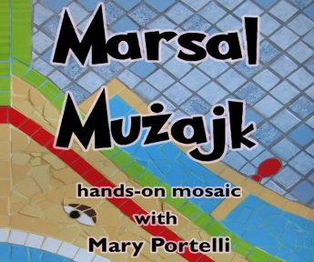 Marsal Muzajk - Hands-on mosaic activity in Marsalforn