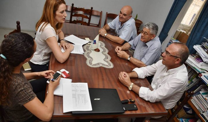 MEP Roberta Metsola meets with the Gozo Business Chamber