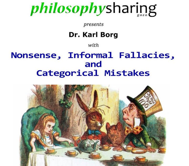 Public talk: Nonsense, Informal Fallacies, and Categorical Mistakes