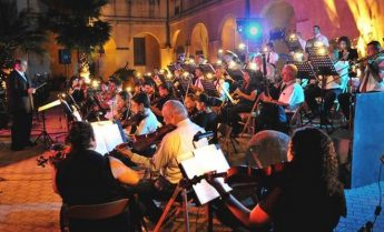 Opera vs Pop Under the Stars 2016 in the courtyard of the Ministry for Gozo