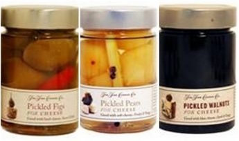 Environmental Health warning on Pickled products for cheese