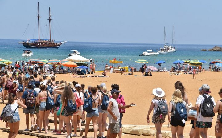 Visitors to the Maltese Islands in August up by 10.2% - NSO