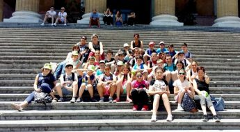 Year 6 pupils from Victoria Primary visit Sicily on student exchange