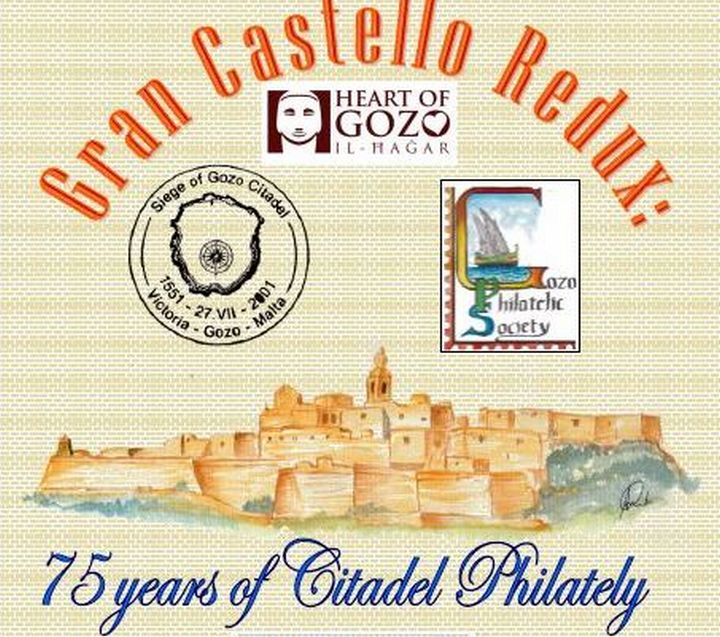 Gran Castello Redux - 75 years of Citadel Philately at Il-Hagar museum