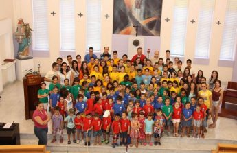 Children's Mass celebrated by Bishop Grech at Don Bosco Oratory