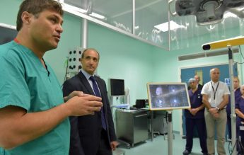 New `Brain Lab' at Mater Dei for precise location of brain tumours