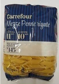 Warning on Carrefour pasta for consumers allergic to soya