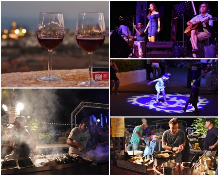 Delicata Wine Festival - wines, food and live entertainment in Nadur