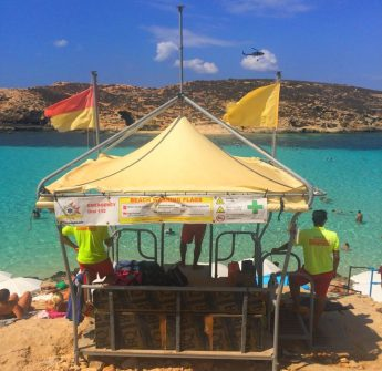 ERRC `informative lifeguarding services' in Gozo & Comino