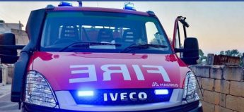 Two Gozo firefighters injured while fighting Xewkija house fire
