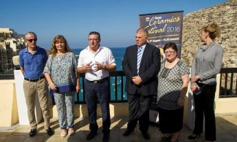 Official launch of the Gozo Ceramics Festival in Xlendi