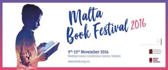 Malta Book Festival 2016 announced with programme of events