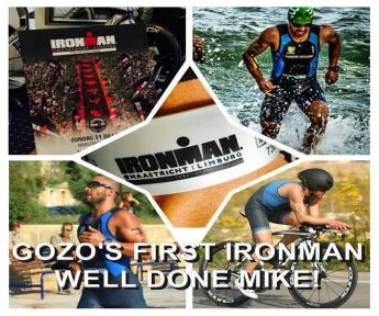 Michael Bongailas is first ever Gozitan to compete in an Ironman 140.6