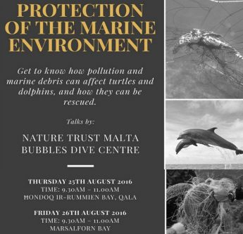 Protection of the Marine Environment - Talks in Hondoq & Marsalforn