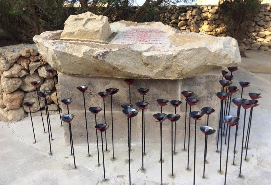 74 years ago enemy bombs took five lives in San Lawrenz, Gozo