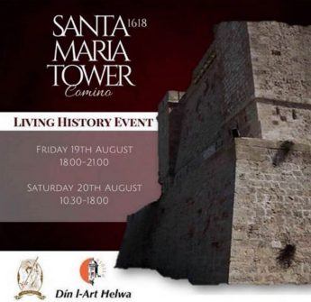 Living History at Santa Marija Tower for Festa ta' Kemmuna 2016