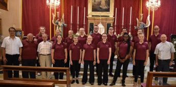 Voices & ChorAlchemy Derby perform sacred music concert in Xlendi