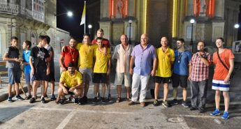 Tal-Armar are the winning team for Giochi – it's a knockout at Xewkija