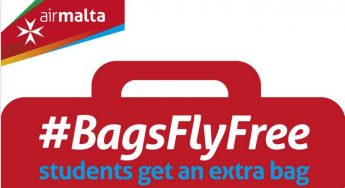 Free luggage allowance for students with Air Malta