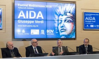 Official launch of Gozo's Festival Mediterranea and the opera AIDA