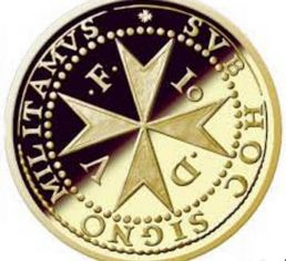 Gold coin issue representing the Maltese `patakka'
