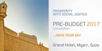 Gozo Pre-Budget consultation meeting - Have Your Say