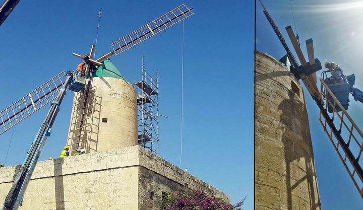 Ta' Kola Windmill in Xaghra reopens on Saturday following restoration
