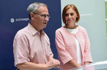 Dr Justyne Caruana launches the 'Premju Anzjanità Attiva' 2016