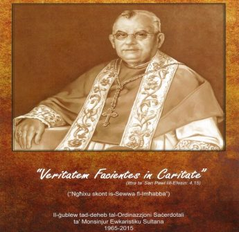 Veritatem Facientes in Caritate - Book reveiw by Fr Geoffrey G Attard