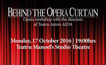 Behind the Opera Curtain: Free opera workshop with Teatru Astra