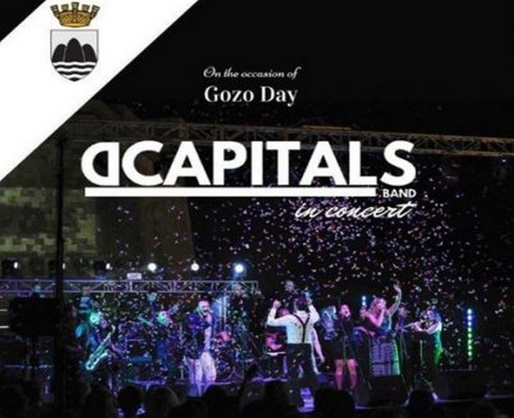 Jum Ghawdex events on Sunday include concert by DCapitals Band
