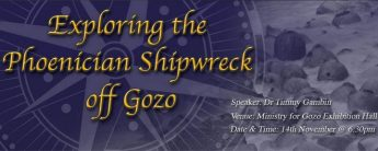 Learn about the Exploration of the Phoenician Shipwreck off Gozo