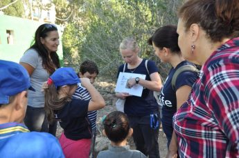 Family Writing Activity held at Simar Nature Reserve