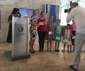 5 students from Zebbug participate in Maltese Lace Competition