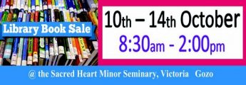 Book Sale at the Sacred Heart Minor Seminary in Victoria