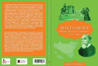 Sicily and Malta in 18th-19th century in new Cassola book