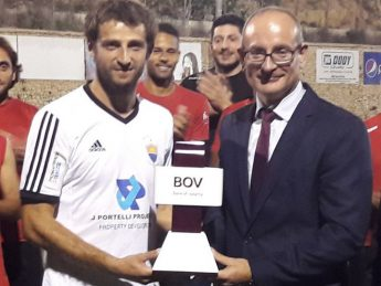 BOV GFA Player of the Month Milos Stojanovic - Nadur Youngsters