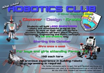 After School Robotics Club at the Minor Seminary in Victoria