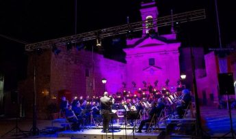 Gozo Youth Wind Band entertains in a Symphony of Lights